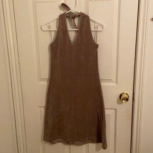 Halter towel dress